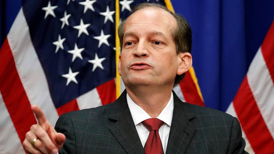 Media critics make Secretary Acosta the story in Jeffrey Epstein scandal