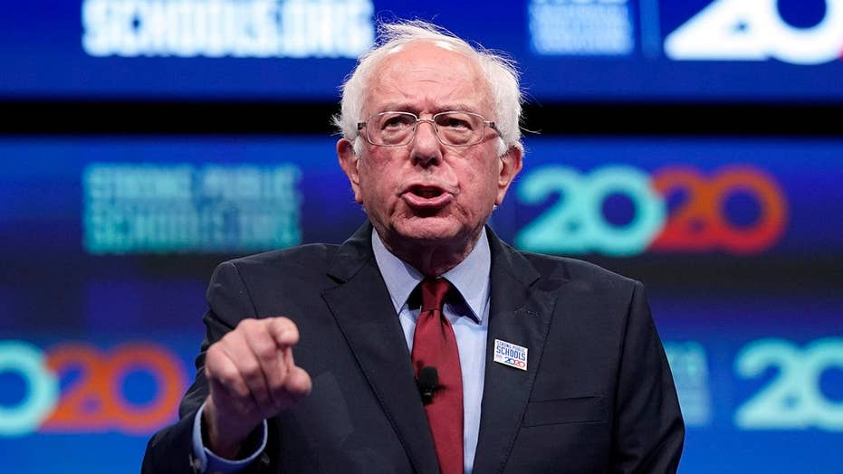 Bernie Sanders compares climate change to Pearl Harbor
