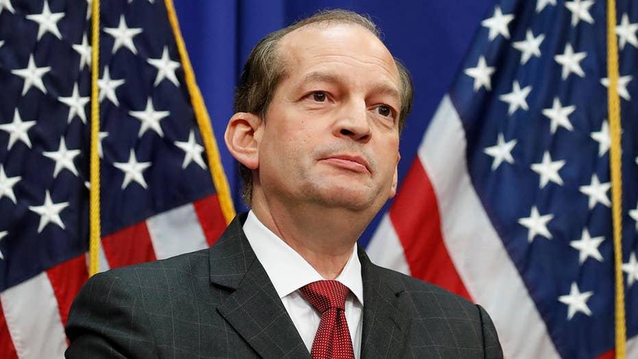 Alex Acosta defends Jeffrey Epstein's 2008 plea deal