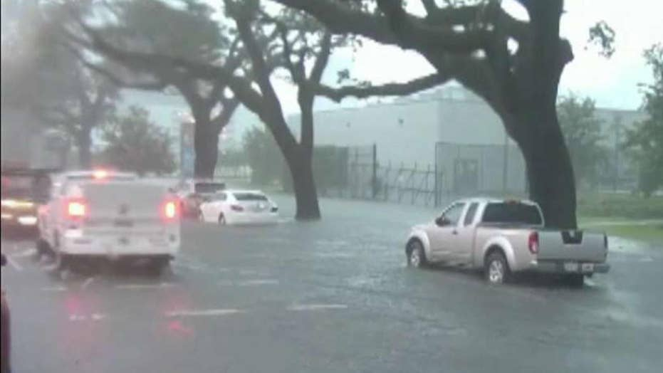 Thunderstorms in New Orleans cause major flash flooding