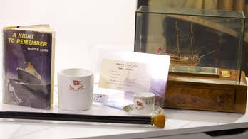 Rare Titanic artifacts that survived the ship's sinking are up for auction