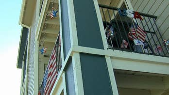 Disabled vet at risk of eviction from Colorado apartment building for flying US flag