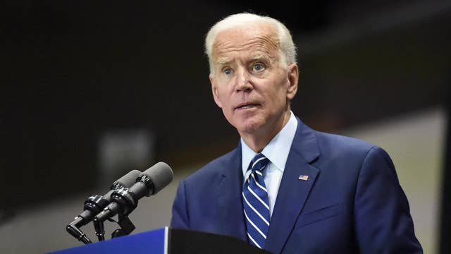 Democratic presidential hopeful Joe Biden delivers a foreign policy address thumbnail