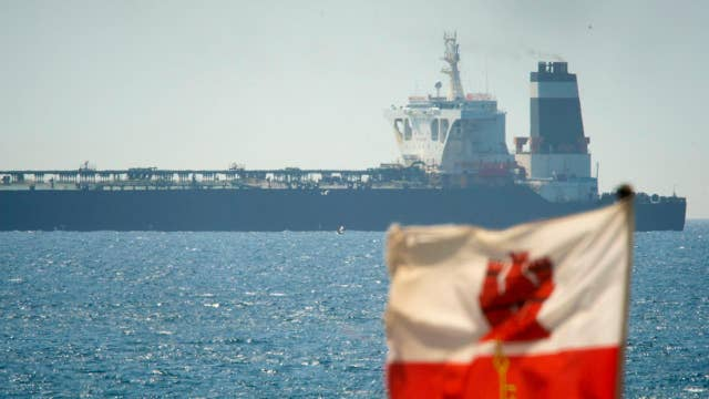 Iran denies claims it tried to block a British tanker in the Strait of Hormuz