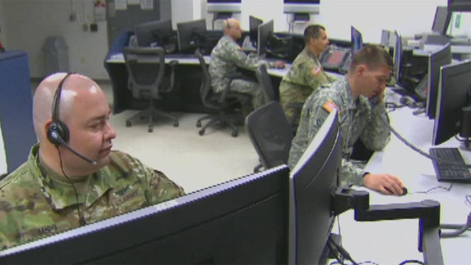 Pentagon skeleton 'war-cloud' computing complement for a military