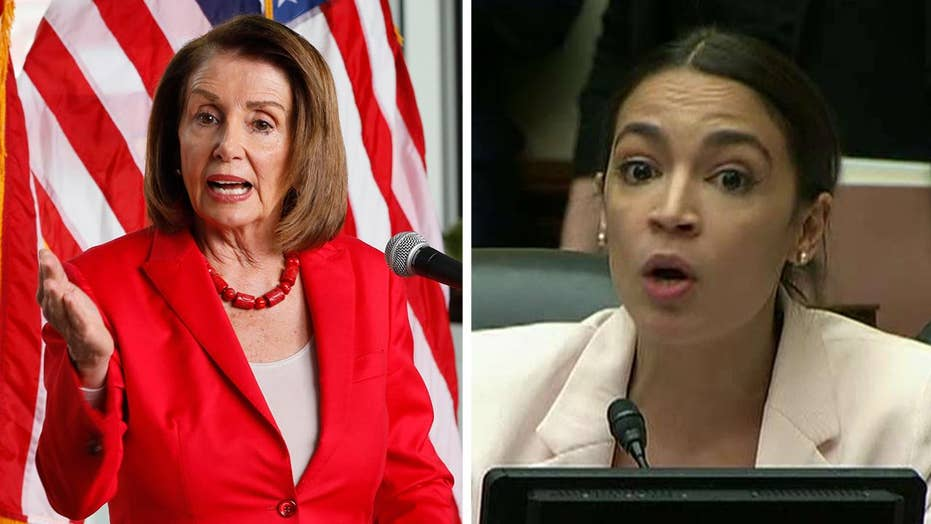 Feud between Speaker Pelosi and Rep. Ocasio-Cortez heats up in the House
