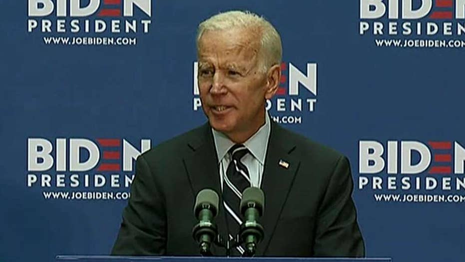 Joe Biden takes credit for helping lay groundwork to defeat ISIS