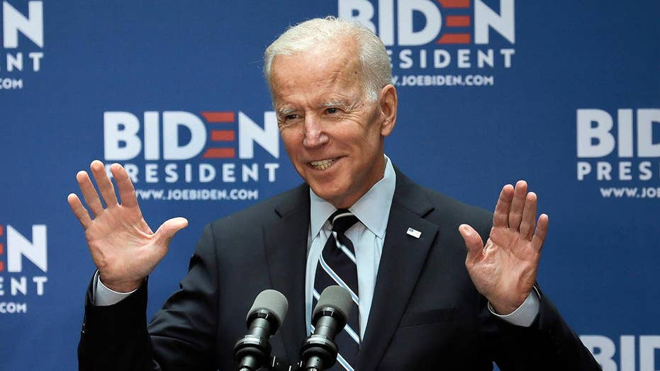 Joe Biden dominates latest Fox News poll of South Carolina Democratic primary voters