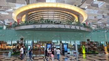 Singapore's Changi Airport has a slide that take you to your gate