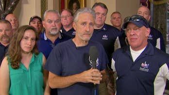 Jon Stewart on House voting to reauthorize the 9/11 Victims Compensation Fund