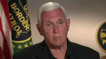 Vice President Pence tours Rio Grande Valley migrant facilities