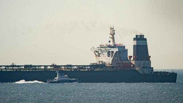 Britain warns Iran after Iranian military gunboats tried and failed to seize British oil tanker