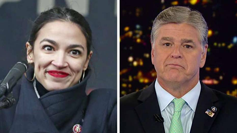 Sean Hannity invites Rep. Alexandria Ocasio-Cortez onto his show