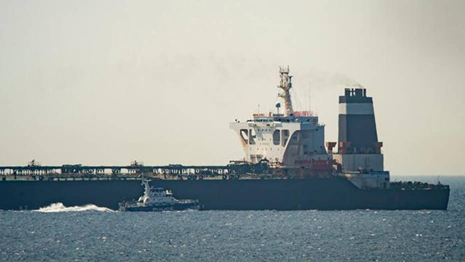 Britain warns Iran after Iranian troops gunboats attempted and unsuccessful to seize British oil tanker. Foreign Secretary Jeremy Hunt says a Iranian tanker could be expelled if a oil is not streamer to Syria