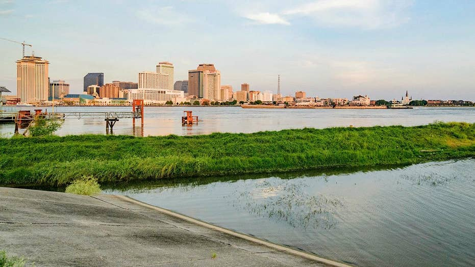 All eyes on New Orleans levees before storm dumps rain on waterlogged region