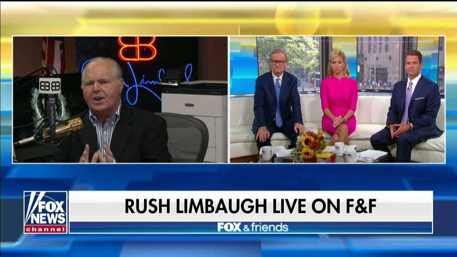 Rush Limbaugh: Here's the real story of Dems' infighting and it's not AOC and Pelosi