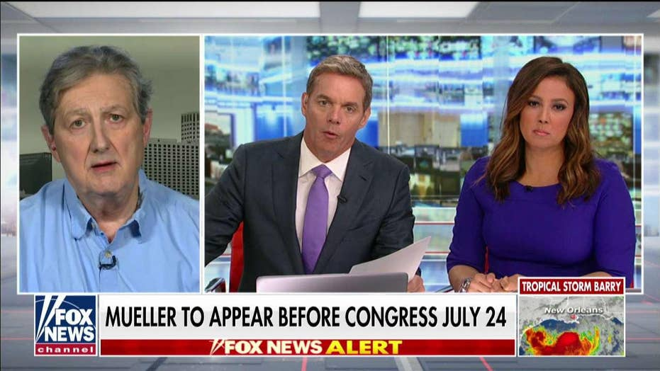 Sen. Kennedy on probable check of Mueller testimony: 'The emanate is as passed as boiled chicken'