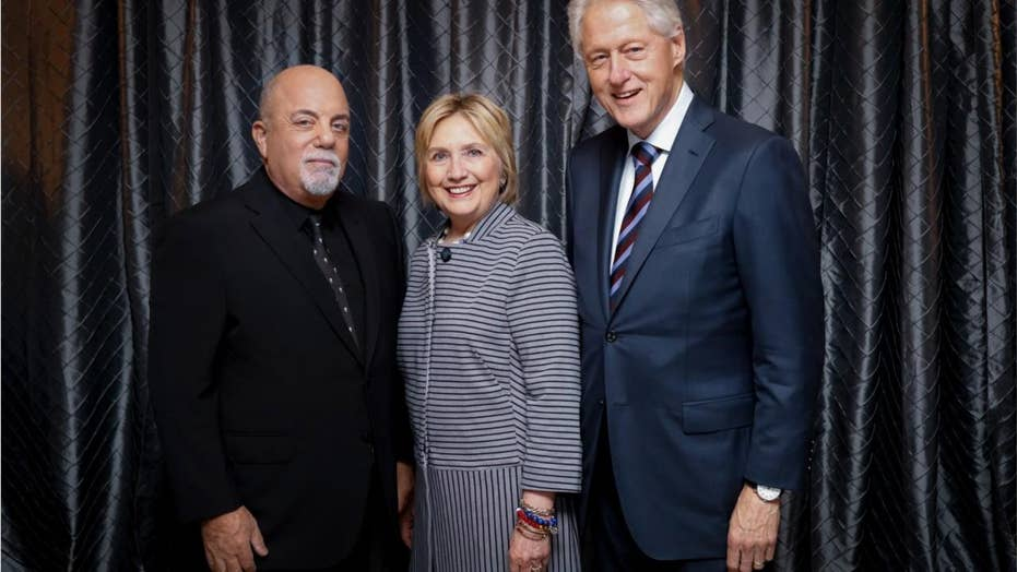 Watch: Crowd boos Hillary and Bill Clinton at Billy Joel concert