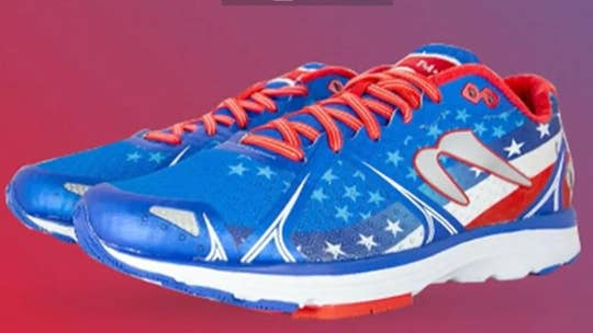 How a country music star is helping military families by selling patriotic sneakers