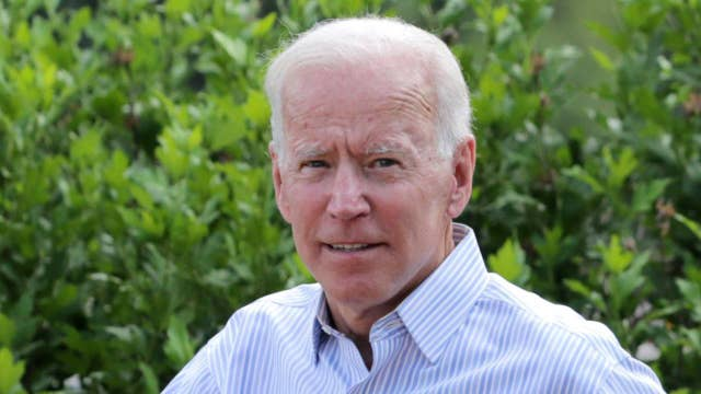 WATCH: Former VP Biden holds a community event in NH thumbnail