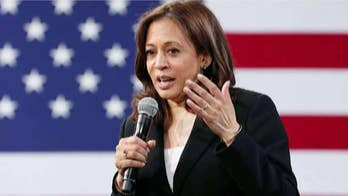 Kamala Harris dismisses outrage over Colin Kaepernick's anthem protests