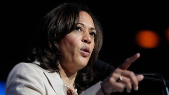 Kamala Harris slams Joe Biden on for his 'revisionist history'