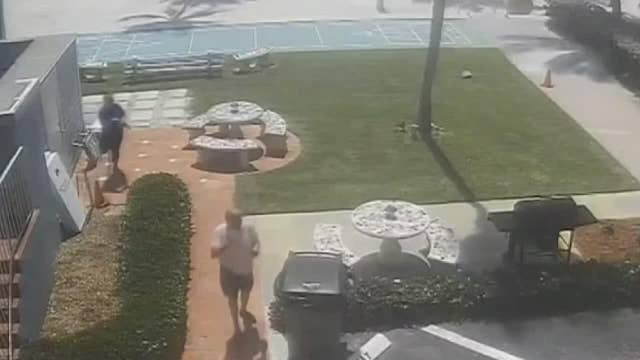 Florida suspect punches hotel owner