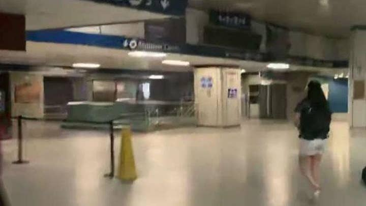 Penn Station experiencing partial power outage amid NYC blackout