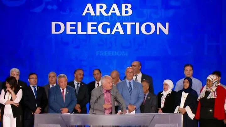 Eric Shawn: Iran opposition holds huge rally