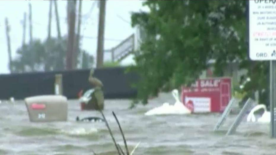 Danger from Tropical Depression Barry not over