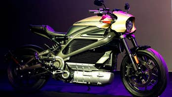 Harley-Davidson goes green with their first electric motorcycle