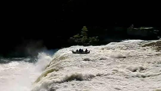 Pennsylvania rafters rescued after being tossed over waterfall, caught on video