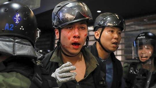 Violent Hong Kong protests enter sixth week