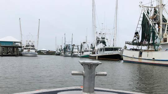 Commercial fishermen on Gulf Coast take another hit after Hurricane Barry