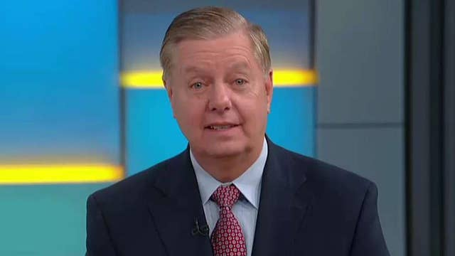 What Sen. Lindsey Graham talked about with President Trump on golf trip
