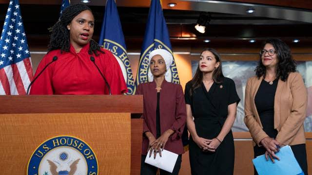 'The Five' respond to progressive Democrats' news conference on Trump's tweets