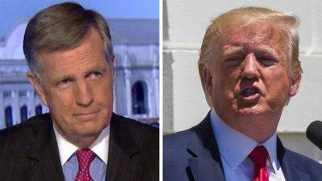Brit Hume responds to Trump, the 'squad'