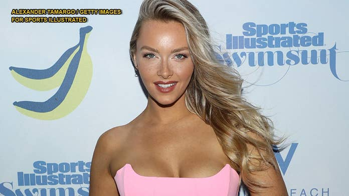 Rob Gronkowski's girlfriend Camille Kostek rocks three looks for Sports Illustrated Swimsuit runway show