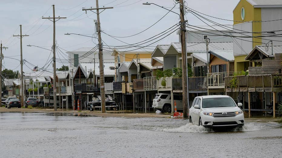 Thousands remain without power with tropical depression Barry moving inland