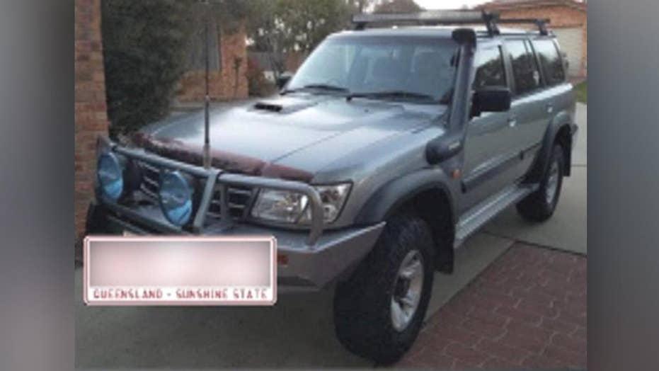 کودکان و نوجوانان اتومبیل خانواده را سرقت می کنند، درایو 600 مایل دور در استرالیا