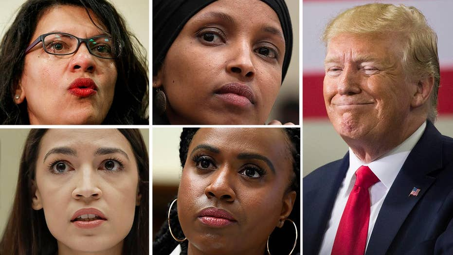Trump doubles down on tweet telling Democratic congresswomen to 'go back' to where they came from