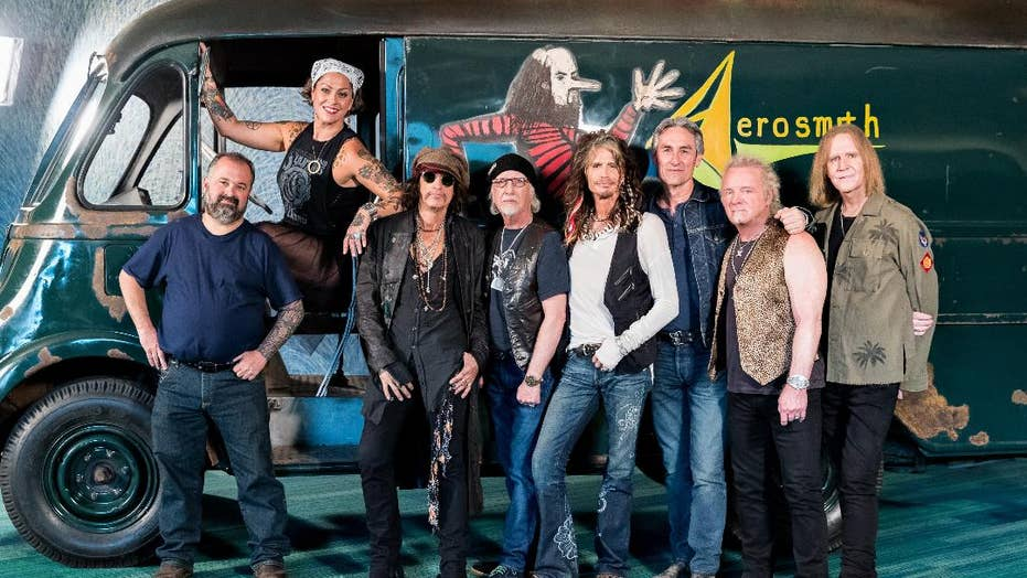 'American Pickers' found, fixed Aerosmith's 1970s tour van