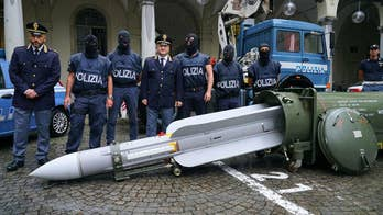 Italian police detain 3 men, seize missile, weapons, Nazi memorabilia
