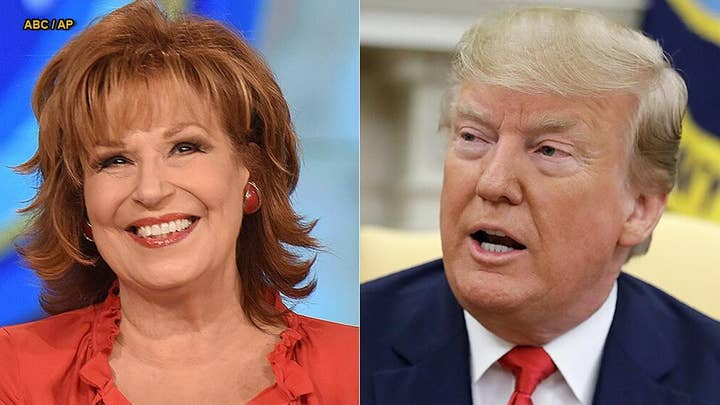 Joy Behar calls Trump a 'cornered rat,' says he's 'running scared' amid feud with Dem congresswomen
