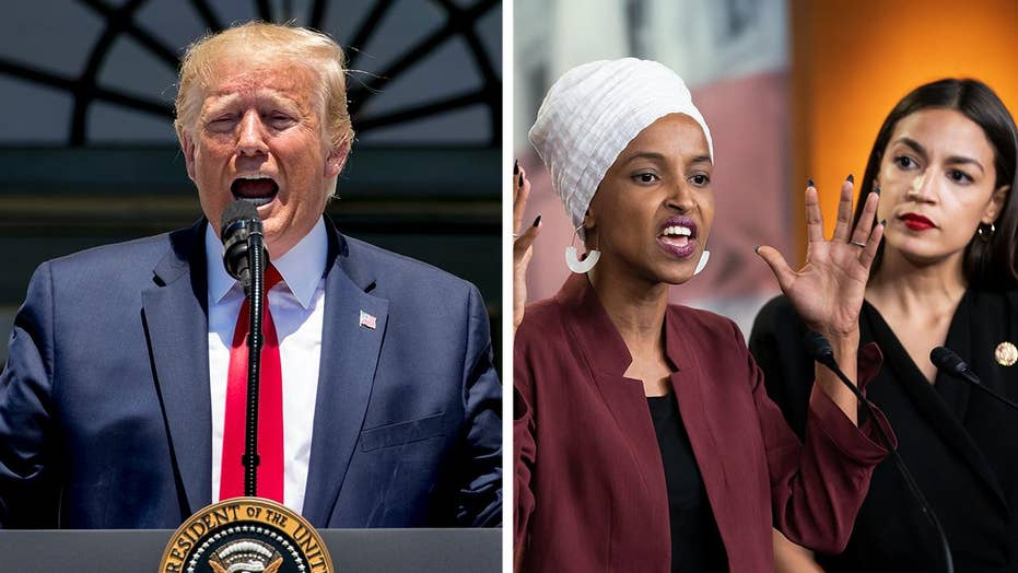Trump enters into feud with Rep. Alexandria Ocasio-Cortez, progressive freshman congresswomen