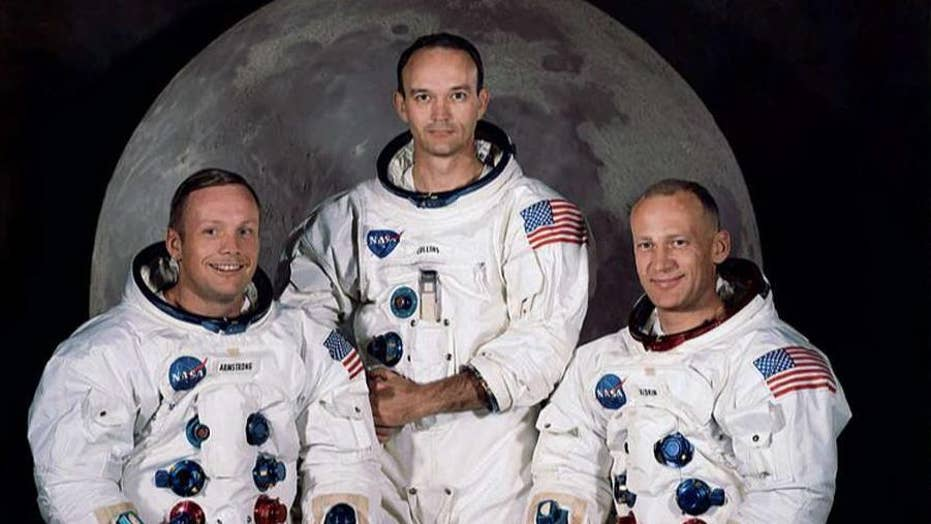 Son of Neil Armstrong describes watching his dad becomes the first person to walk on the moon