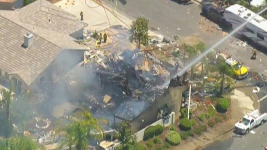 Deadly gas explosion tears through California home
