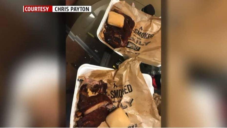 DoorDash dismisses delivery driver who allegedly ate customer's