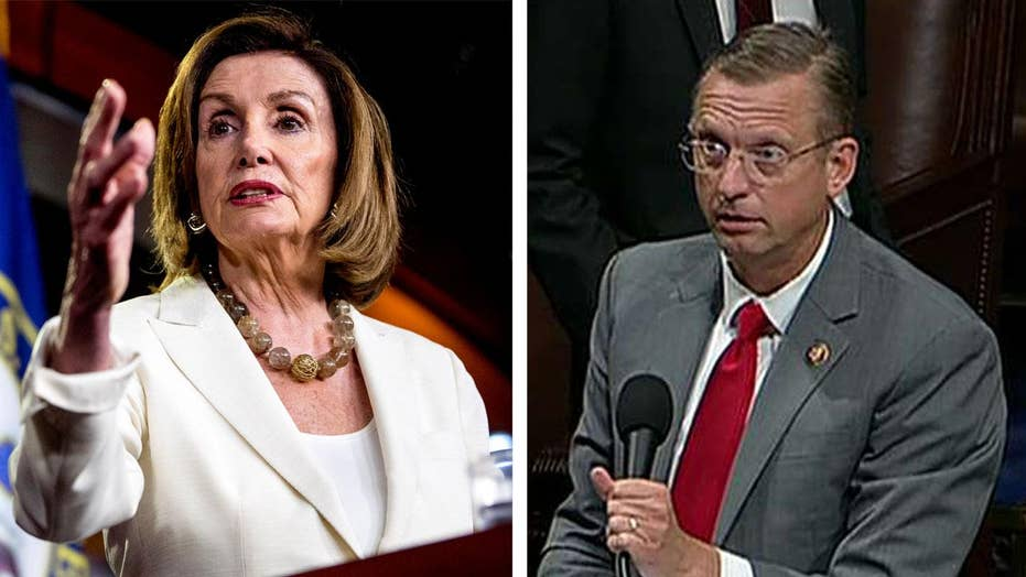 Resolution to condemn Trump held up after Rep. Collins demands Nancy Pelosi's remarks be taken down