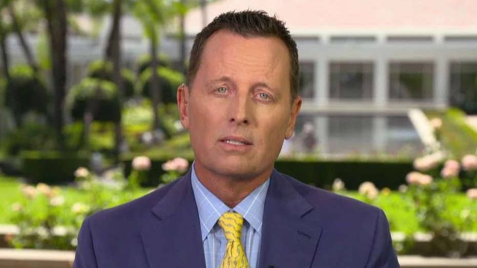 Amb. Grenell says Trump is putting diplomacy first, working to bring Iranian regime back to negotiating table